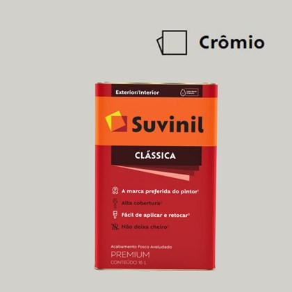 Tinta Acrílica Premium Fosco Aveludado Clássica Crômio 16L Suvinil