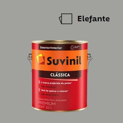 Tinta Acrílica Premium Fosco Aveludado Clássica Elefante 3,2L Suvinil