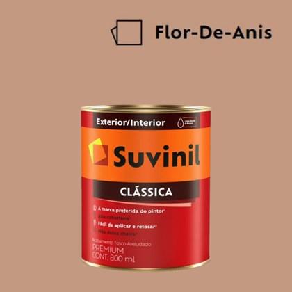 Tinta Acrílica Premium Fosco Aveludado Clássica Flor de Anis 800ml Suvinil