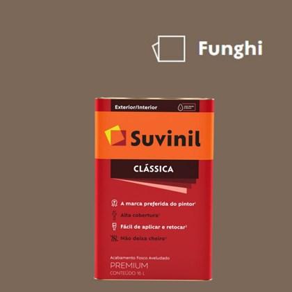 Tinta Acrílica Premium Fosco Aveludado Clássica Funghi 16L Suvinil