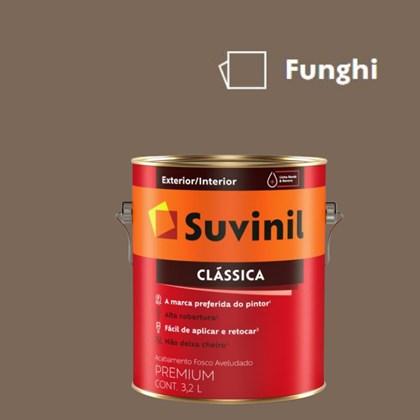 Tinta Acrílica Premium Fosco Aveludado Clássica Funghi 3,2L Suvinil