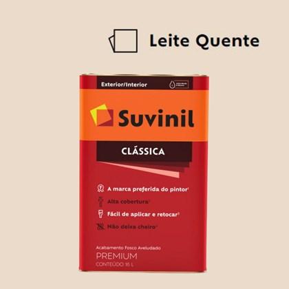 Tinta Acrílica Premium Fosco Aveludado Clássica Leite Quente 16L Suvinil