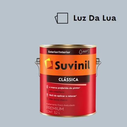 Tinta Acrílica Premium Fosco Aveludado Clássica Luz da Lua 3,2L Suvinil