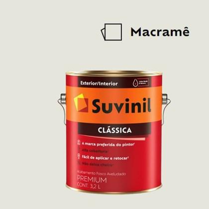 Tinta Acrílica Premium Fosco Aveludado Clássica Macramê 3,2L Suvinil