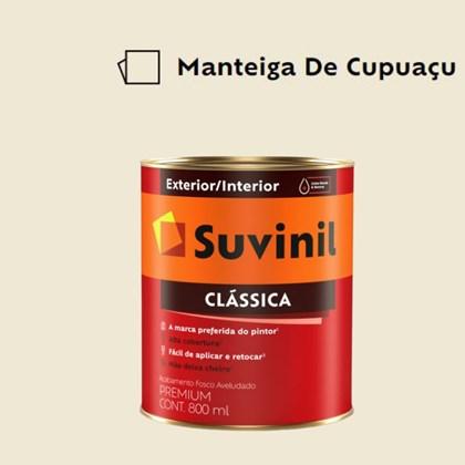 Tinta Acrílica Premium Fosco Aveludado Clássica Manteiga de Cupuaçu 800ml Suvinil