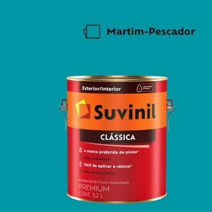 Tinta Acrílica Premium Fosco Aveludado Clássica Martim Pescador 3,2L Suvinil