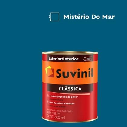 Tinta Acrílica Premium Fosco Aveludado Clássica Mistério do Mar 800ml Suvinil