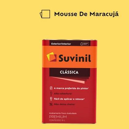 Tinta Acrílica Premium Fosco Aveludado Clássica Mousse de Maracujá 16L Suvinil