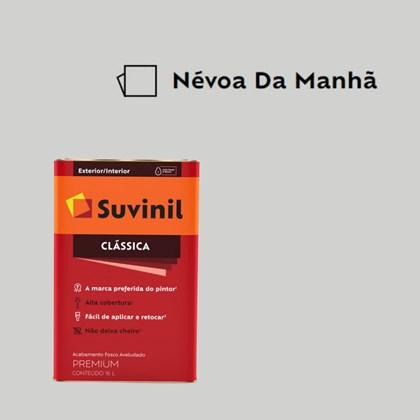 Tinta Acrílica Premium Fosco Aveludado Clássica Névoa da Manhã 16L Suvinil