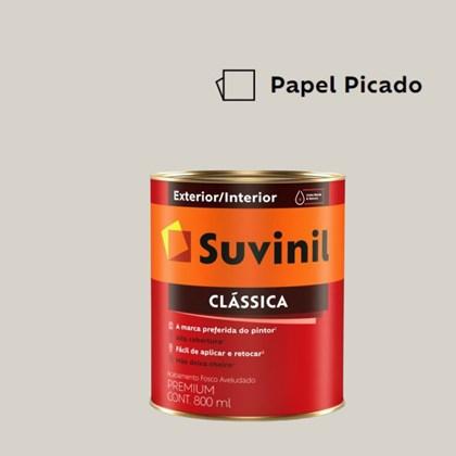 Tinta Acrílica Premium Fosco Aveludado Clássica Papel Picado 800ml Suvinil