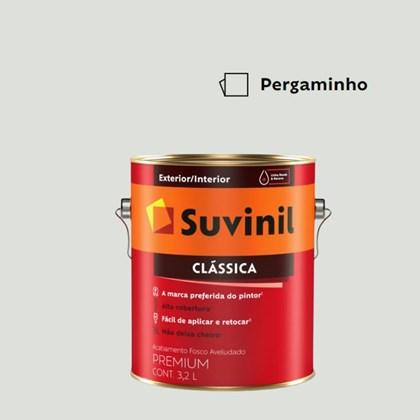 Tinta Acrílica Premium Fosco Aveludado Clássica Pergaminho 3,2L Suvinil