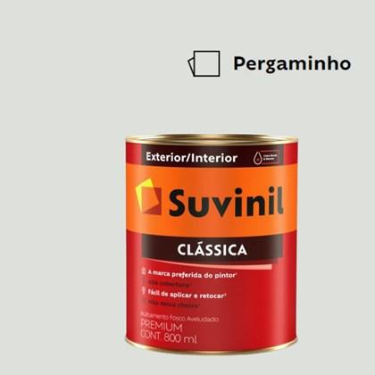 Tinta Acrílica Premium Fosco Aveludado Clássica Pergaminho 800ml Suvinil