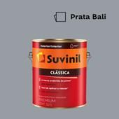 Tinta Acrílica Premium Fosco Aveludado Clássica Prata Bali 3,2L Suvinil