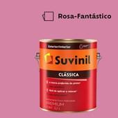 Tinta Acrílica Premium Fosco Aveludado Clássica Rosa Fantástico 3,2L Suvinil