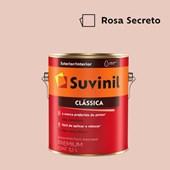 Tinta Acrílica Premium Fosco Aveludado Clássica Rosa Secreto 3,2L Suvinil