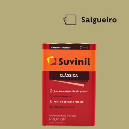 Tinta Acrílica Premium Fosco Aveludado Clássica Salgueiro 16L Suvinil