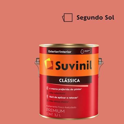 Tinta Acrílica Premium Fosco Aveludado Clássica Segundo Sol 3,2L Suvinil