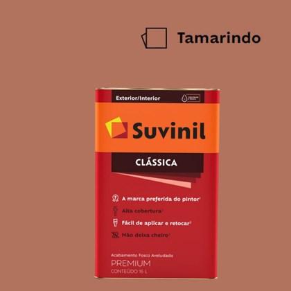Tinta Acrílica Premium Fosco Aveludado Clássica Tamarindo 16L Suvinil