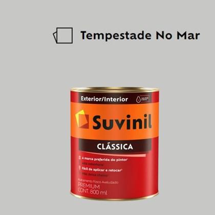 Tinta Acrílica Premium Fosco Aveludado Clássica Tempestade no Mar 800ml Suvinil