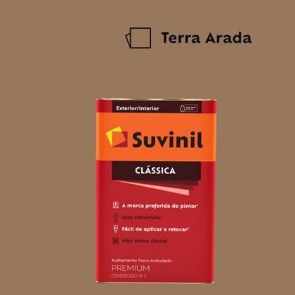 Tinta Acrílica Premium Fosco Aveludado Clássica Terra Arada 16L Suvinil
