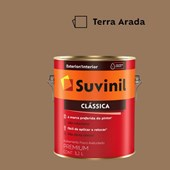 Tinta Acrílica Premium Fosco Aveludado Clássica Terra Arada 3,2L Suvinil