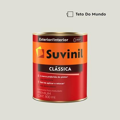Tinta Acrílica Premium Fosco Aveludado Clássica Teto do Mundo 800ml Suvinil