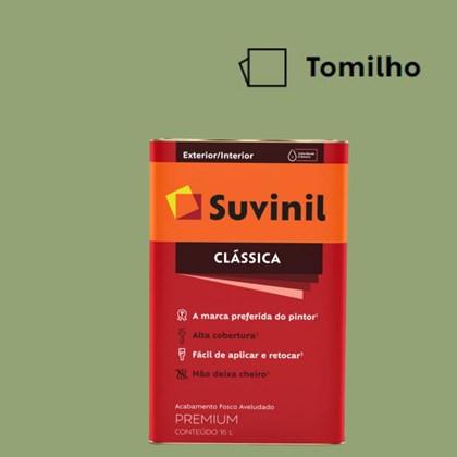 Tinta Acrílica Premium Fosco Aveludado Clássica Tomilho 16L Suvinil