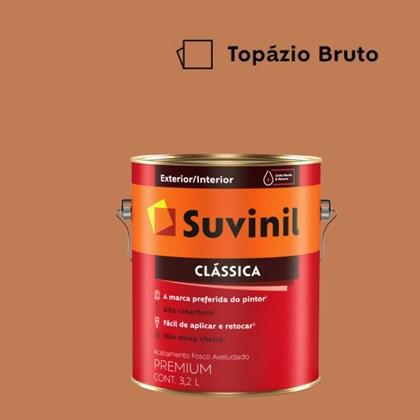 Tinta Acrílica Premium Fosco Aveludado Clássica Topázio Bruto 3.2L Suvinil
