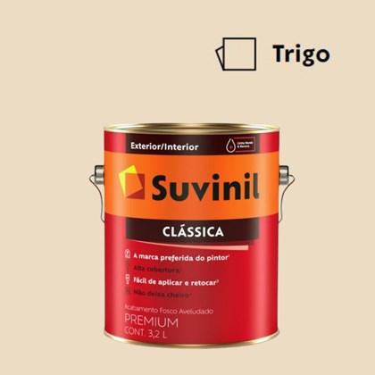 Tinta Acrílica Premium Fosco Aveludado Clássica Trigo 3,2L Suvinil