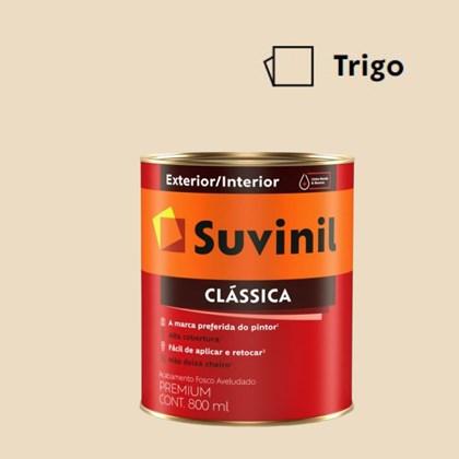 Tinta Acrílica Premium Fosco Aveludado Clássica Trigo 800ml Suvinil