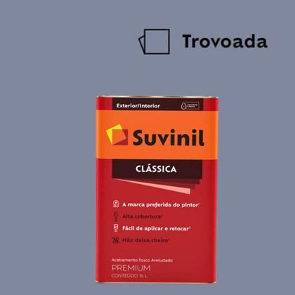 Tinta Acrílica Premium Fosco Aveludado Clássica Trovoada 16L Suvinil