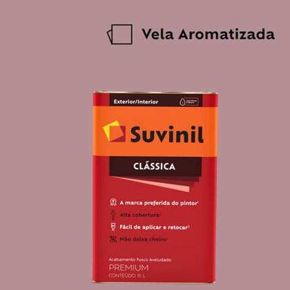 Tinta Acrílica Premium Fosco Aveludado Clássica Vela Aromatizada 16L Suvinil