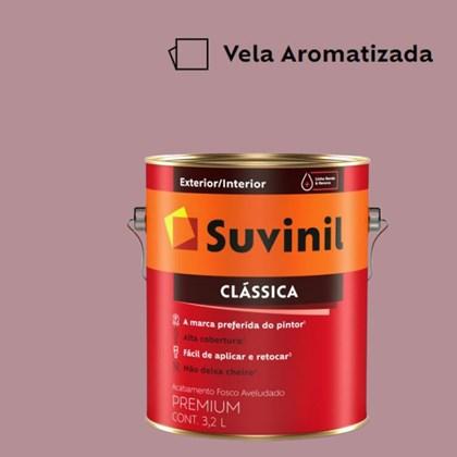 Tinta Acrílica Premium Fosco Aveludado Clássica Vela Aromatizada 3,2L Suvinil