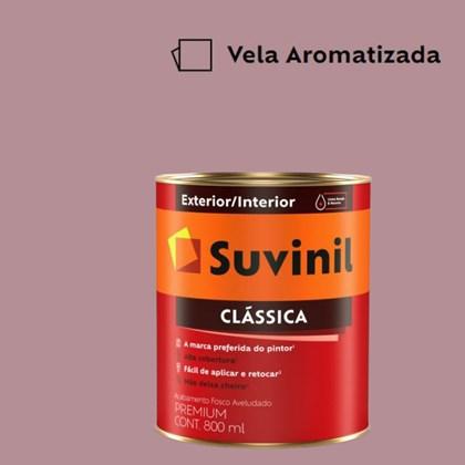 Tinta Acrílica Premium Fosco Aveludado Clássica Vela Aromatizada 800ml Suvinil