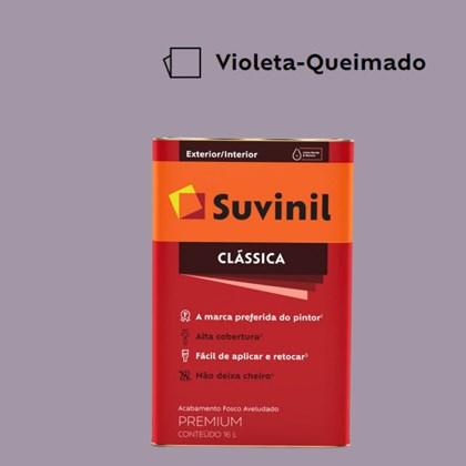 Tinta Acrílica Premium Fosco Aveludado Clássica Violeta Queimado 16L Suvinil