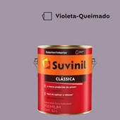 Tinta Acrílica Premium Fosco Aveludado Clássica Violeta Queimado 3,2L Suvinil