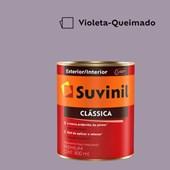 Tinta Acrílica Premium Fosco Aveludado Clássica Violeta Queimado 800ml Suvinil