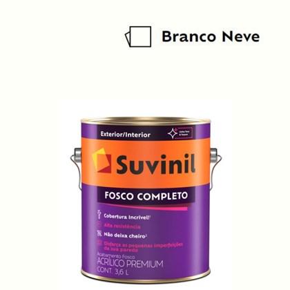 Tinta Acrílica Premium Fosco Completo Branco 3,6L Suvinil