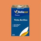 Tinta Acrílica Semi-Brilho B102 Doce de Mamão 16L Bellacor