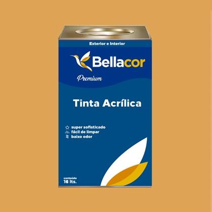 Tinta Acrílica Semi-Brilho B42 Abóbora 16L Bellacor