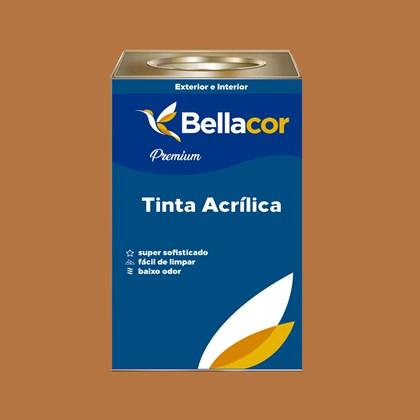 Tinta Acrílica Semi-Brilho B90 Doce de Leite 16L Bellacor
