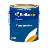 Tinta Acrílica Semi Brilho Branco 3,6 Premium - Bellacor