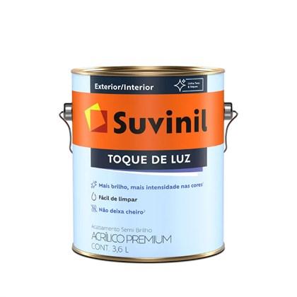 TINTA ACRÍLICA SEMI BRILHO BRANCO TOQUE DE LUZ - 3,6L SUVINIL