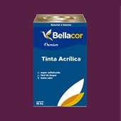 Tinta Acrílica Semi-Brilho C01 Creme de Ameixa 16L Bellacor