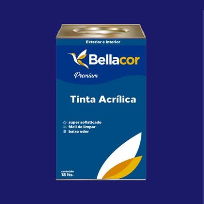 Tinta Acrílica Semi-Brilho C10 Luz do Luar 16L Bellacor