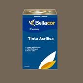 Tinta Acrílica Semi-Brilho C108 Cinza Tabapuã 16L Bellacor