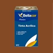 Tinta Acrílica Semi-Brilho C110 Marrom Bombom 16L Bellacor