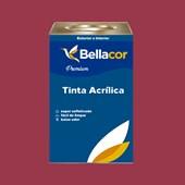 Tinta Acrílica Semi-Brilho C63 Geleia de Amora 16L Bellacor