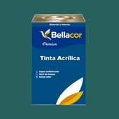 Tinta Acrílica Semi-Brilho C70 Azul de Paúba 16L Bellacor