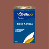 Tinta Acrílica Semi-Brilho C74 Marrom Claro 16L Bellacor
